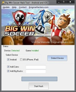 big win soccer hack tool